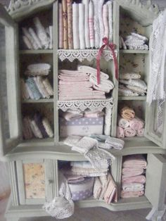 12th scale shabby chic haberdasherysewing by shabbychicminis, $115.00