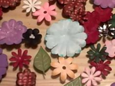 This video is on how I turn punched and cut flowers into Prima Like flowers.