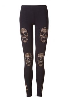 Skull 'Unlimited' leggings ~ Philipp Plein