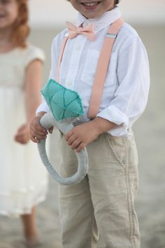 Awesome, DIY giant felt diamond ring for your ring bearer!