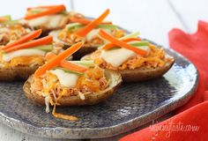 Buffalo chicken, Buffalo and Healthy buffalo chicken on Pinterest