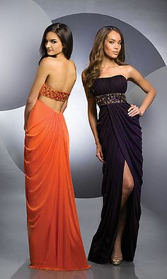 Love this but can't think a slit like that is appropriate for a military ball... raised in a conservative military fam... 'nough said.