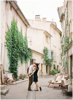 Engagement shoot in South of France © – KT Merry Photography via French Wedding Style Blog