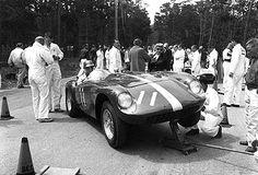 John von Neumann Ferrari Mondial Pebble Beach 1956