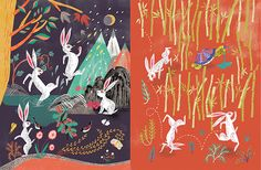 Korean Folk Tale - The Rabbit and the Dragon king on Behance