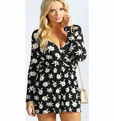boohoo Madeline Daisy Print Jersey Playsuit - black Perfect for daytime shopping or evening partying, the playsuit will take you stylishly through AW. Mesh inserts and peplum frills are worked into this staple style saviour, and lace detailing and anim http://www.comparestoreprices.co.uk/womens-clothes/boohoo-madeline-daisy-print-jersey-playsuit--black.asp