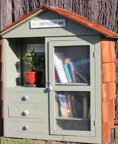 Little Free Library / This one is nice and big so you have room for everything!