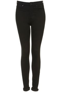 TALL MOTO Black Leigh Jeans