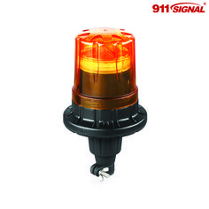 """Flexi Din"" mount LED Beacon FD24-AF can help prevent breakage in the event that this top-side light is struck by a tree branch, fork-lift, or other object."