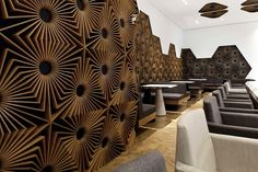 Geometric Elements Surround You In This Bar