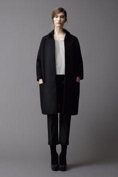 perfect #coat in black - Samuji Fall Winter 2012