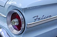 1963 Ford Falcon Convertible Taillight Photograph by Jill Reger - 1963 Ford Falcon Convertible Taillight Fine Art Prints and Posters for Sale