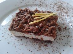 Strúhaný tvarohový koláč - Recept
