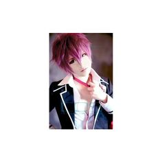 Vocaloid Cosplay ❤ liked on Polyvore featuring cosplay
