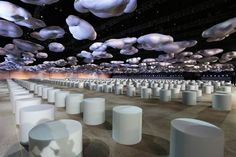 Stefan Beckman Creates A Striking Cloud-Filled Set for Marc Jacobs's Fall 2014 Fashion Show