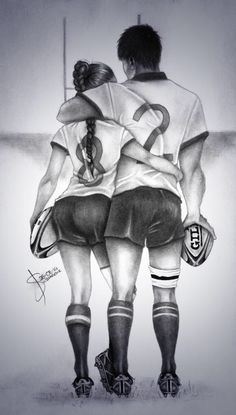 Rugby Love Made by: @LaetiSennavoine  play Rugby. --Emmet and I.  ;)