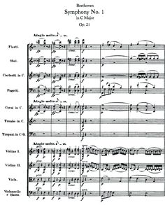 """The opening of the first movement of Beethoven's Symphony No. 1.  This is a joke.  I think it is Beethoven giving a major middle finger to conservatives and/or music critics as this great work begins exactly how it shouldn't - in the key of F Major, and then the Key of G Major.  It is a symphony in C Major, so opening it intentionally in those keys, I feel, is part of a great musical joke.  It then goes to C Major, as it should, but not after """"ridiculing the rules.""""  : )"""