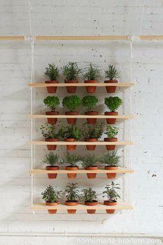 Wiszące dekoracje roślinne | decomania