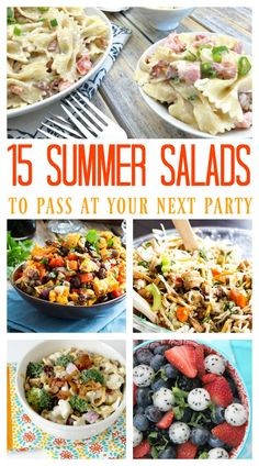 15 Summer Salads to Pass at Your Next Party
