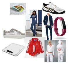 """""""Untitled #108"""" by sabii-dlii ❤ liked on Polyvore featuring adidas, Fitbit, Carvela, Salter and Asics"""