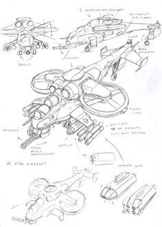 UC VTOL aircraft1 by TugoDoomER