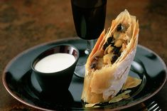 Apple and marzipan strudel
