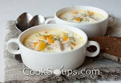Recipe of Chicken Soup with Cream