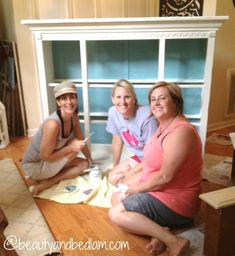 Amazing Color Pop Hutch Transformation — Balancing Beauty and Bedlam