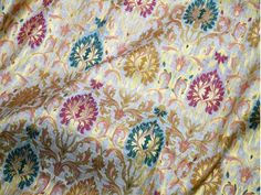 Wedding Dress Fabric Indian Costume Fabric by Indianlacesandfabric