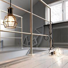 Fresh Extravagante H ngeleuchte aus Stahl in skandinavischem Design