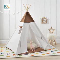 Deti sa radi hraju na skrývačku a tento stan im poskytuje skvelé miesto na skrytie alebo na hranie. Tento stan je skvelým doplnkom rôznych hier a dobrodružstiev, fantázii sa medze nekladú. #premiumXL Hanging Chair, Toddler Bed, Ebay, Home Decor, Kids Shop, Alcohol Games, Boys Playing, Teepee Tent, Kids Tents