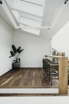 Holiday Homes & Condo Rentals - Airbnb - Modern Design Outdoor Rooms, Outdoor Living, Weatherboard House, House Extensions, Maine House, Ottawa, Decoration, Living Spaces, Modern Design