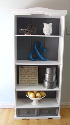 Bookshelf Redo