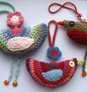 Birdie Decoration - by Lucy de Attic24- spanish - Free