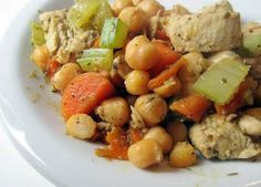Chicken and Garbanzo Casserole