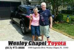 Happy Anniversary to John on your #Toyota #RAV4 from Andy Ghelfi at Wesley Chapel Toyota!  https://deliverymaxx.com/DealerReviews.aspx?DealerCode=NHPF  #Anniversary #WesleyChapelToyota