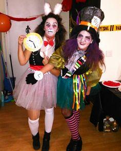Halloween 2016  Sombrerera Loca and White Rabbit