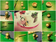 CBeebies loved this tutorial on a Sarah and Duck cake topper. Great for a kids or toddler's party or special occasions