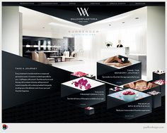 Waldorf-Astoria Website | Designer: Paul Lee Design | Image 2 of 2
