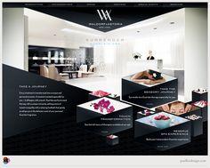 Waldorf-Astoria Website | Designer: Paul Lee Design | Image 2 of 2
