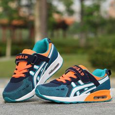 New Design Children sports shoes boys and girls air cushion shoes  comfortable kids sneakers child running shoes Size 26-39 6764bf91bcd5