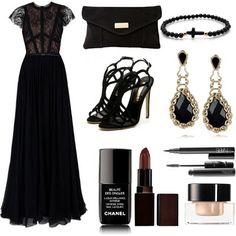 LOLO Moda: Vintage black dress 2013