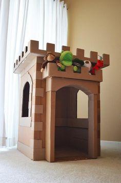 башня из картона
