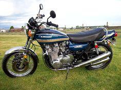 1975 Kawasaki Z1B Super Candy Blue