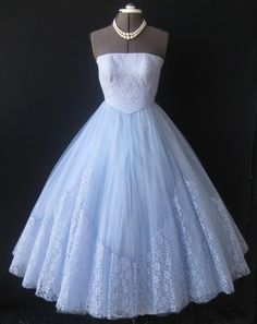Periwinkle old fashioned dress
