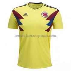 Camisetas De Futbol Selección Colombia Copa Mundial 2018 Primera Equipación 97e1e4c50b12a