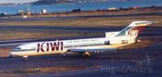 KIWI International Airlines, Boeing 727-225/Adv (N353PA) at Boston (KBOS)