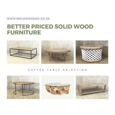 A variety of our coffee tables. Get in touch with us for quality, well priced wooden furniture. Interior Styling, Interior Decorating, Interior Design, Online Furniture, Home Furniture, Solid Wood Coffee Table, Decorating Coffee Tables, Solid Wood Furniture, Touch