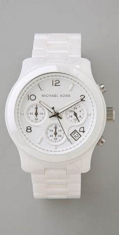 Michael Kors Ceramic Watch thestylecure.com