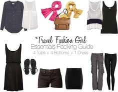 Essential packing guide From Travel fashion girl